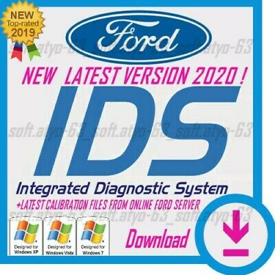 LATEST 2020 Ford IDS 116.05  Diagnostic Online, Native  +instal vidio