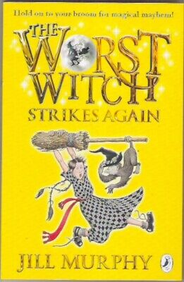 THE WORST WITCH STRIKES AGAIN Jill Murphy New paperback Class Childs collectable