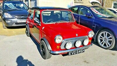 1970 Mini 850 Red Mot And Tax Exempt Px Welcome