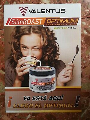 CAFE ADELGAZANTE SlimRoast Optimum de VALENTUS