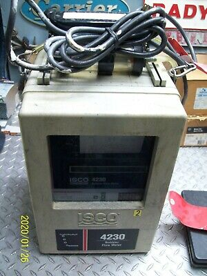 Isco 4230 Bubbler Flow Meter Good Condition From Working System