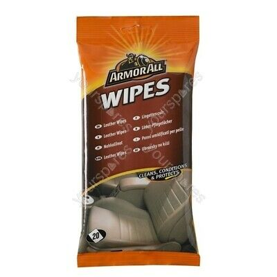 Armorall Leather Wipes - Pack Of 20