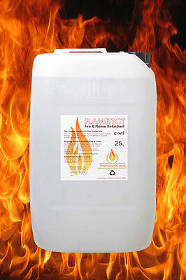 Flametect C-WD Decking & Wood Products. 25 Litre + 2 litre Pressure sprayer