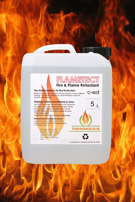 Flametect C-WD Decking & Wood Products 5 Litre +  2 litre Pressure sprayer
