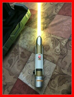 """Galaxys Edge Temple Guard Legacy Lightsaber WITH 36"""" Inch BLADE BRAN NEW LIMITED"""