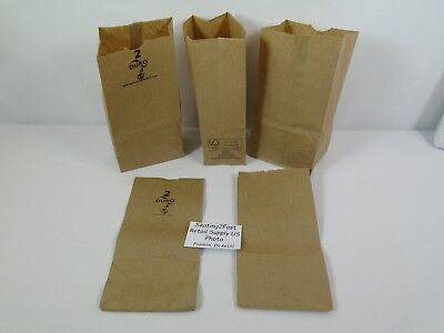 #2 Paper Brown Kraft Natural Sack Lunch Grocery Retail Bags