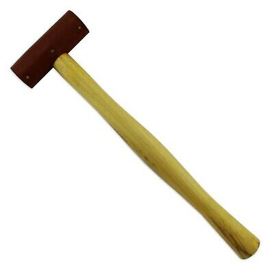 Jewellers Raw hide leather mallet hammer 25mm head