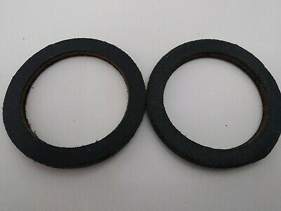 "Leather Camlock Washer Seal Gasket 2 1/2"" 2.5"" for Pump Hose Coupler X 2"