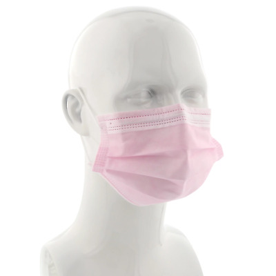 Flu Virus Surgical Face Mask 3 Ply Face Mask With Ear Loop