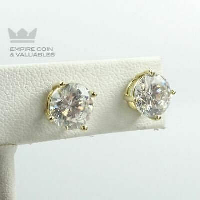 Earrings Cultured Pearls 0 5//16in White Gold 585 Pearl Earrings Studs 585er Gold
