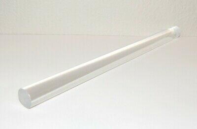 """Diameter 12/"""" Length AZM 0.75/"""" Clear Acrylic Round Rods 3//4/"""""""