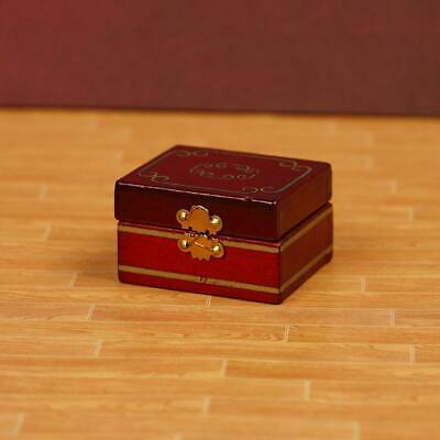 1/12 Dollhouse Miniatures Jewelry Box /Doll Room Decor Accessory House Gift F0B0