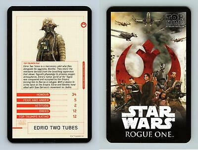 Star Wars Rogue One Series 2 Character Sticker Chase Card CS-12 Edrio Two Tubes