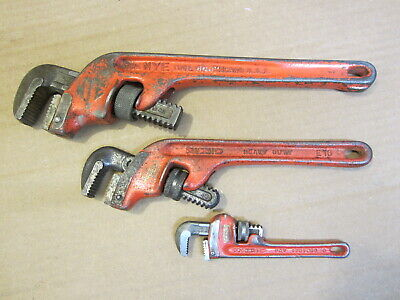 """RIDGID E-10 OFFSET PIPE AND 6"""" WRENCH AND NYE Tool Co. 14"""" Adjustable WRENCH"""