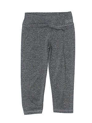 Justice Girls Gray Active Pants 10