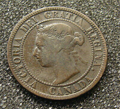 Canada-------1896----One Penny Coin