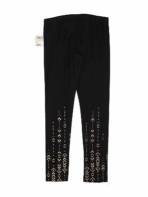 NWT Mudd Girls Black Leggings 12