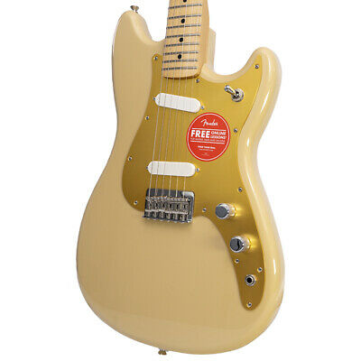 Brand New Fender Player Duo-Sonic Desert Sand