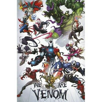 WE ARE VENOM - MARVEL COLLAGE POSTER - 24x36 - 3515