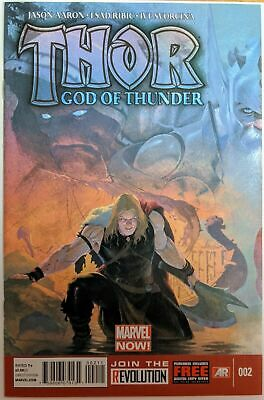 Thor God Of Thunder #2 1St Gorr God Butcher Nm- (Priority & Free Insurance)