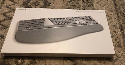 Microsoft - Surface Ergonomic Keyboard - Silver