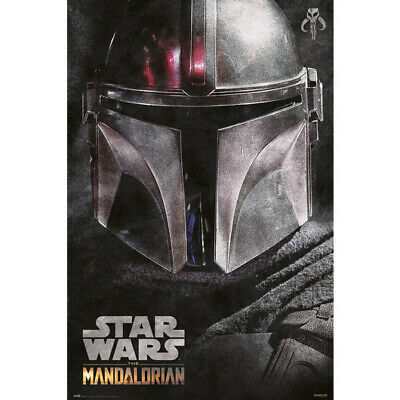 LAMINATED Star Wars The Mandalorian Dark Poster Official Licensed 24x36/""