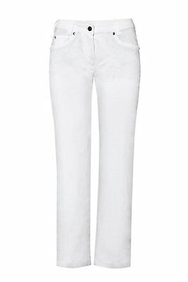 Greiff Ladies Jeans Model 5329 White 5 Pocket Cut Sz. 34 New