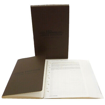 Authentic LOUIS VUITTON Agenda Fonctionnel PM Address Book R05436 #S401069