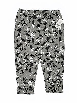 NWT Miss Attitude Girls Gray Leggings 16