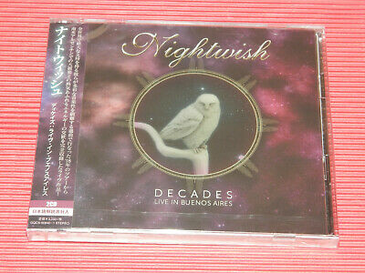 2020 Night Wish Decades Live In Buenos Aires  Japan  2 Cd Set