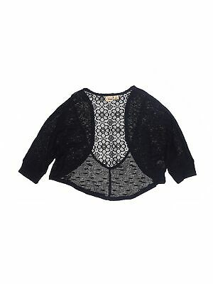 Mudd Girls Black Shrug 10