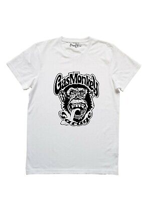 T-shirt maglietta Gas Monkey Garage logo 10038