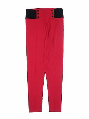 Unbranded Girls Red Leggings XL Youth