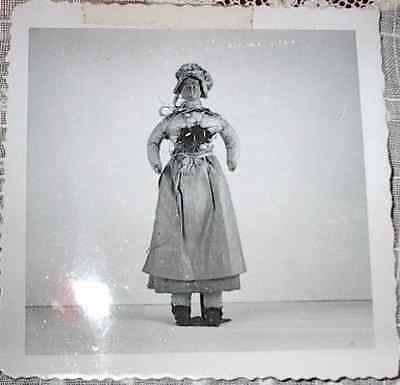 Antique Doll French Peasant Doll Real Photo from Collector's Records