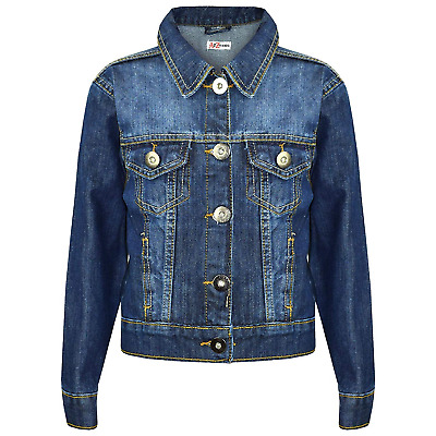 A2Z 4 Kids® Kids Girls Designer's Trendy Fashion Jeans Jacket Coats - Girls J12