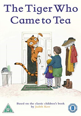 The Tiger Who Came To Tea DVD NEW