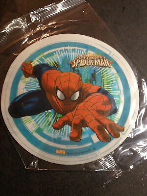 Cialda ostia rotonda per torta Marvel Ultimate Spiderman
