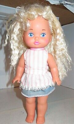 Lil Miss Dress Up Vintage Mattel Doll Cute Used Dressed Dressup 1988 Baby Doll
