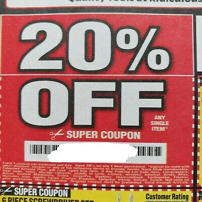 Harbor Freight Tools Tool Coupons Coupon Deals Savings Super 20% Off 04.11.2020!