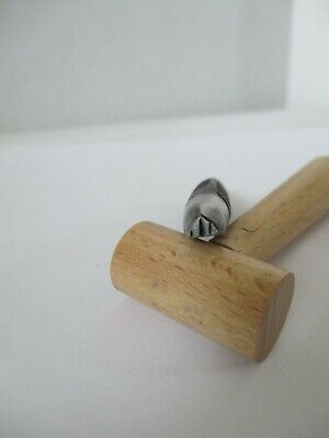 Authentic Navajo Silversmith Jewelers Handmade Punch Stamp Tool
