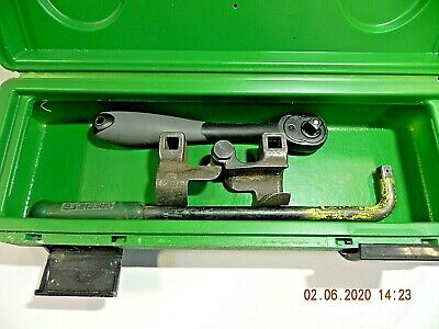 Greenlee 796 Cable Wire Bender Bending Kit Ratcheting