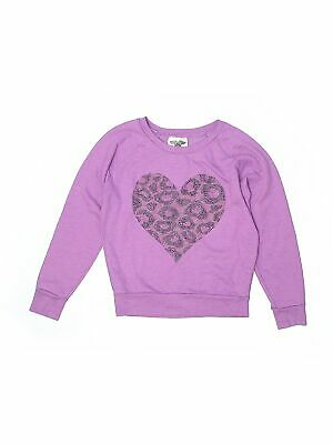 Signorelli Girls/' Embellished Sweatshirt-HOT PINK-M 7//8-NWT