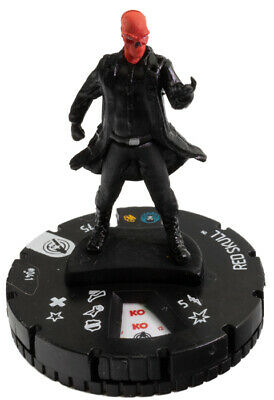 Red Skull 041  M//NM with Card Marvel Captain America and the Avengers HeroClix