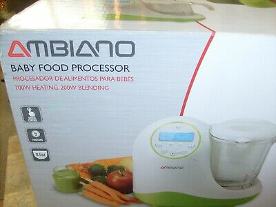 AMBIANO: BABY FOOD PROCESSOR  …  Brand New, Opened Box.