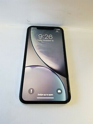 Apple iPhone XR 64gb White A1984 (Unlocked) Great Phone Discounted NW2733