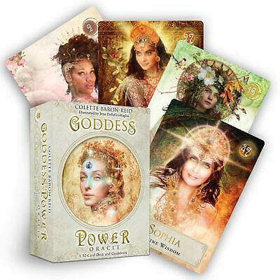 Goddess Power Oracle: Cards Deck and Guidebook ~-~ NEW ~-~