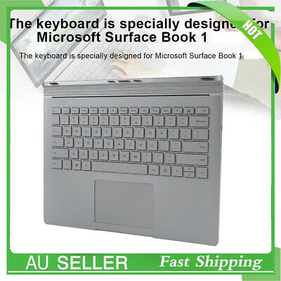 Multifunctional Keyboard For Surface Book 1 Replacement Silver for Computer PC