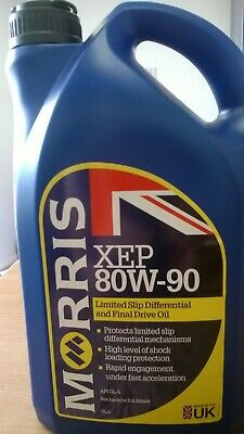 Morris Oils Xep 80W-90 Limited Slip Differential Oil (5 Litres)