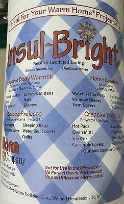 Insul Bright Insulating Material For Sewers & Crafters 112cm Wide Per Metre