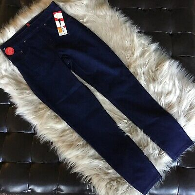 Spanx Ready To WOW Cropped Denim Leggings Size Small Color Pacific Depth - NWT